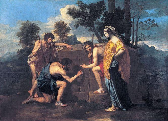 Nicolas Poussin, Et in Arcadia ego, 1637-38