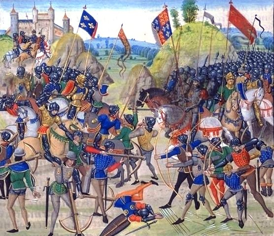 "Froissart's ""Battle of Crecy"""