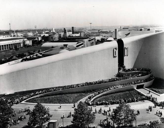 GM Building designed Albert Kahn and Norman Bel Geddes
