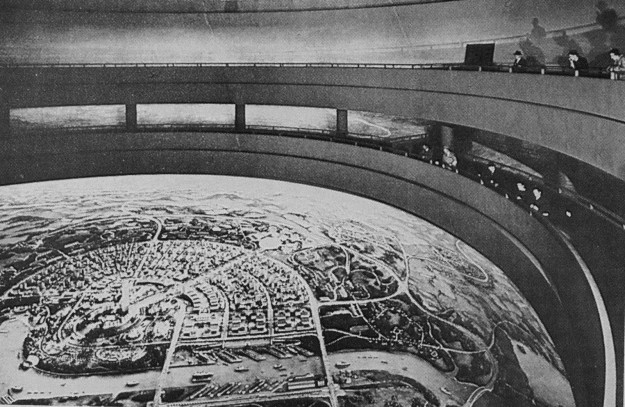 Democracity, inside the Perisphere