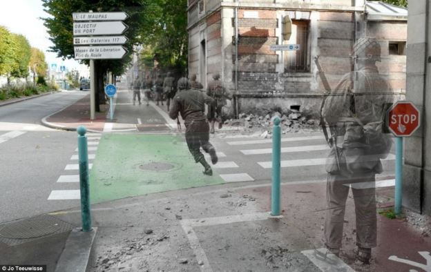 WWII Superimposed