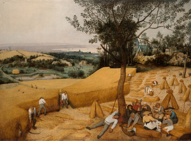 Pieter Brueghel, The Harvesters (1565)