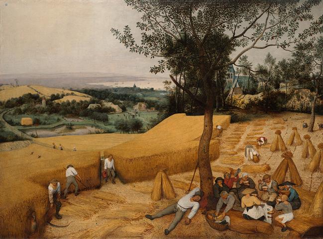 Pieter Brueghel, The Harvesters (1565)