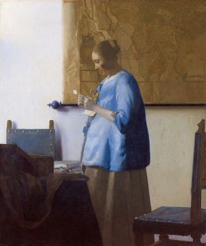 854px-Vermeer,_Johannes_-_Woman_reading_a_letter_-_ca._1662-1663