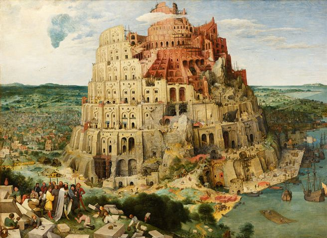 Pieter Brueghel, Construction of the Tower of Babel (1563)