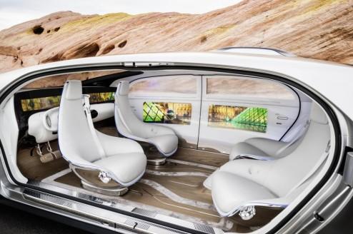 mercedes self-driving
